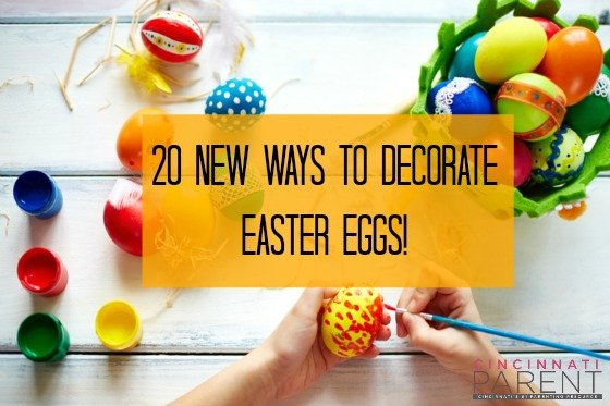 20 New Ways To Decorate Easter Eggs
