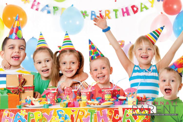 Cincinnati Birthday Party Hotspots
