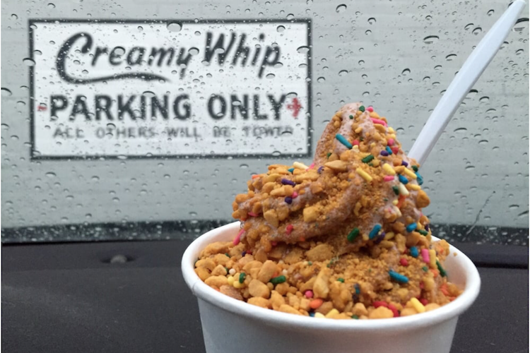 Yelp Creamy Whip Bucket List