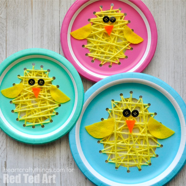 Paper-Plate-Chicks
