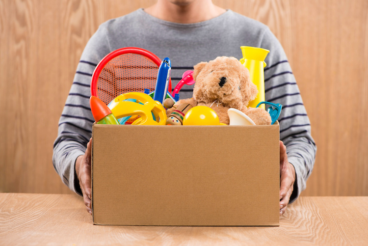 how to get toy donations